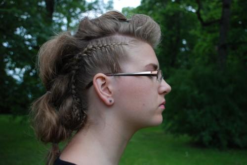 punk hair style