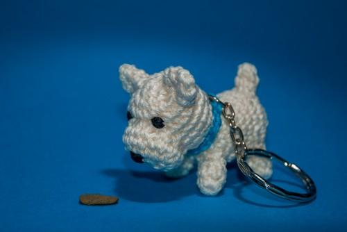 Amigurumi koer